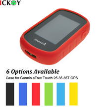 Outdoor Hiking Handheld GPS Navigator Accessories Silicon Rubber Case Skin for Garmin eTrex Touch 25 35 35T GPS Accessories garmin etrex touch 25