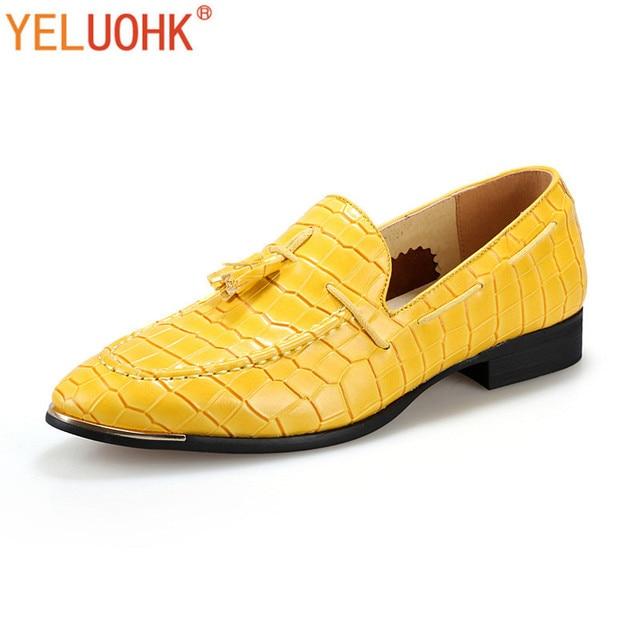 Chaussures Mocassins cuir Homme Chaussures Jaune zMwr2jY