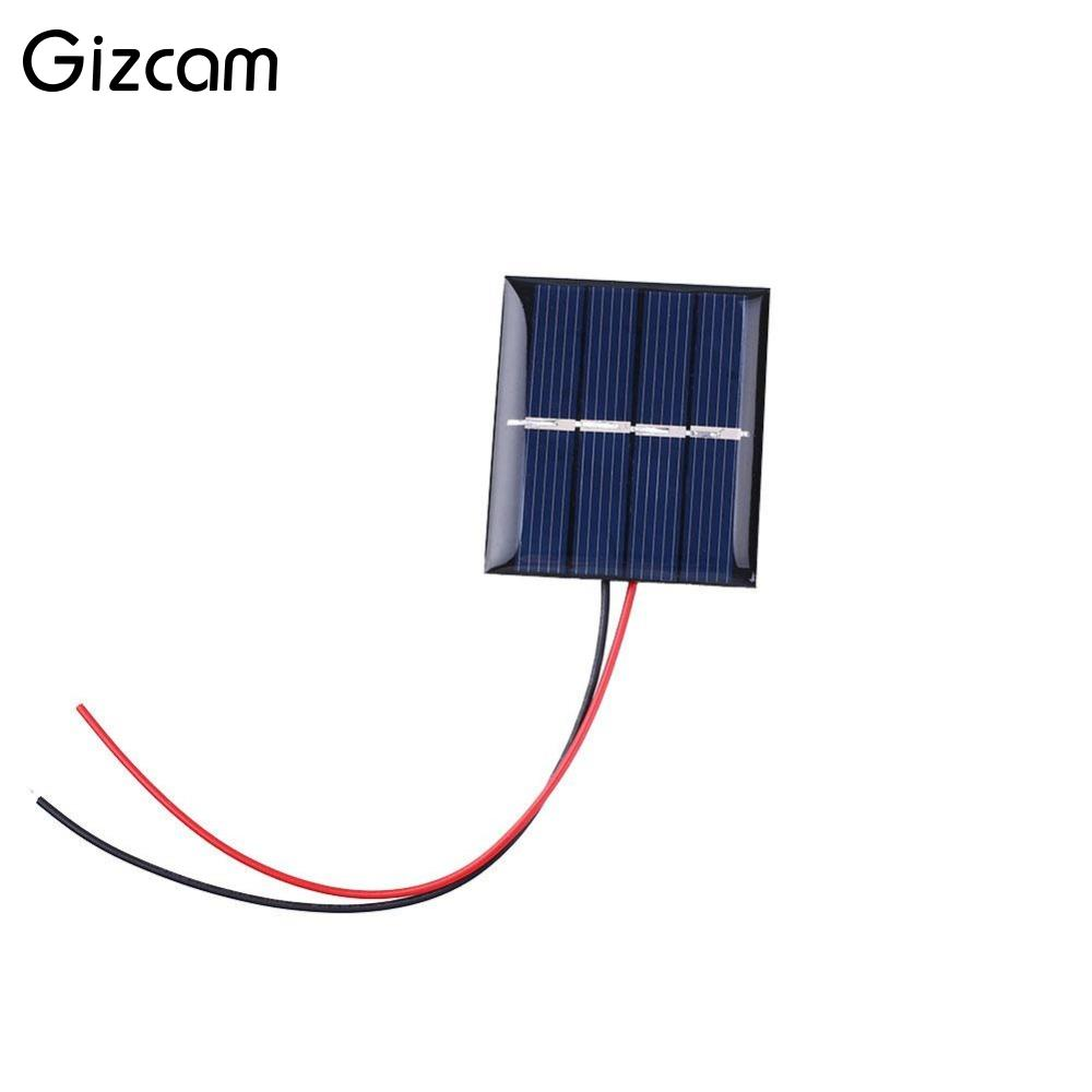 US $1 42 14% OFF|Gizcam 2V 0 36W 180mA Sunpower Solar Power Panel DIY  Module For Cell Phone Charger-in Solar Cells from Consumer Electronics on