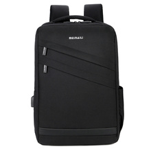 Laptop High Quality Designer Male Business ID Card Classic Bags Travel Multifunction Bag Fashion Zipper Open Mens BackPack