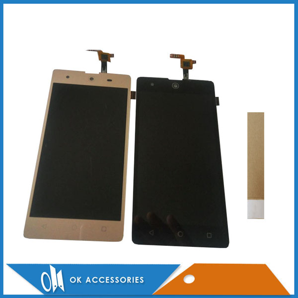 Noir Blanc Or Couleur Pour BQ BQS-5050 BQS5050 BQS 5050 Grève Selfie LCD Display + Écran Tactile Digitizer Avec du Ruban Adhésif