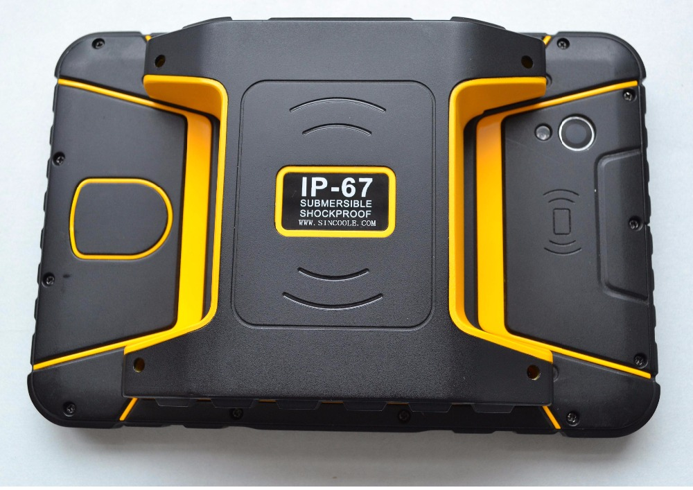 Sincoole 7 inch 4G LTE 3GB 32GB Android 5.1 Rugged Tablet, Industrial PAD with Finger printer