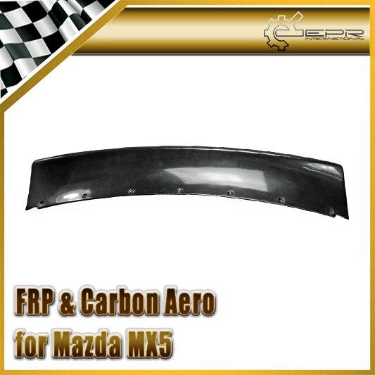 Voiture-Style Pour Mazda MX5 89-97 NA Miata Roadster FRP Fiber De Verre RB Style gros-porteurs Aileron Arrière En Fiber De Verre Tronc Aile Kit Carrosserie