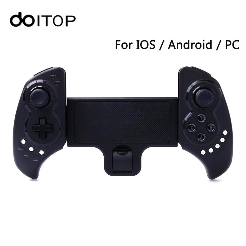 все цены на DOITOP Wireless BT Game Controller For Smartphones iOS Android Gamepad for iPad Stretch Holder Stand Wireless Gaming Joystick