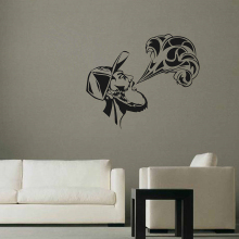 YOYOYU Wall Decal Man Smog Pattern Creative Design Stickers Fashion Removable Vape Home Decor Interior Accessories DIYSY772