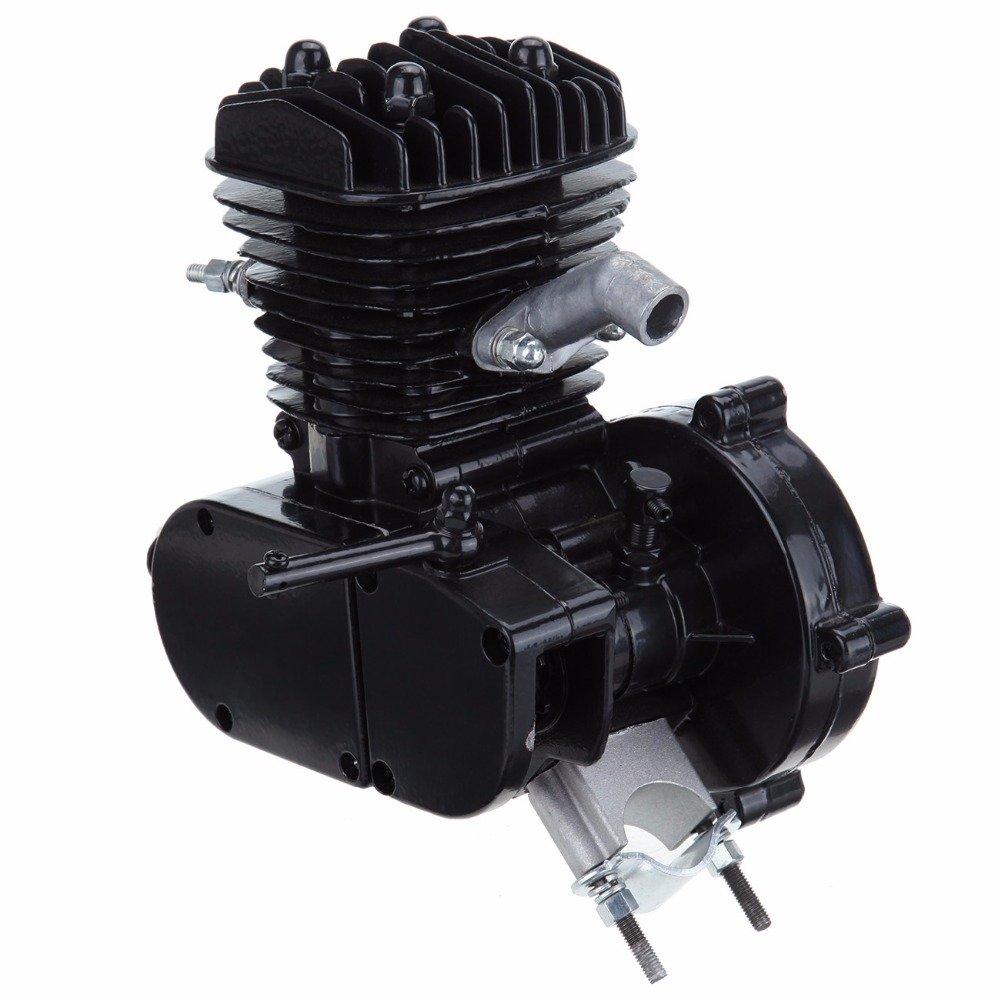 Ship from USA! Black 50cc 2 Stroke Gas Engine Motor For Motorized Motorised Bicycle Bike Cycle ship from usa 2 stroke 80cc motor blike bicycle engine kits gas bike kit c80 with suitable price