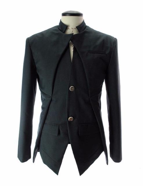 2016 Diseñador de la Marca de Moda Para Hombre Chaqueta de Traje Estilo de Inglaterra Slim Fit Blazer Coats Tuxedo Hombres de Negocios Trajes de Envío de La Gota