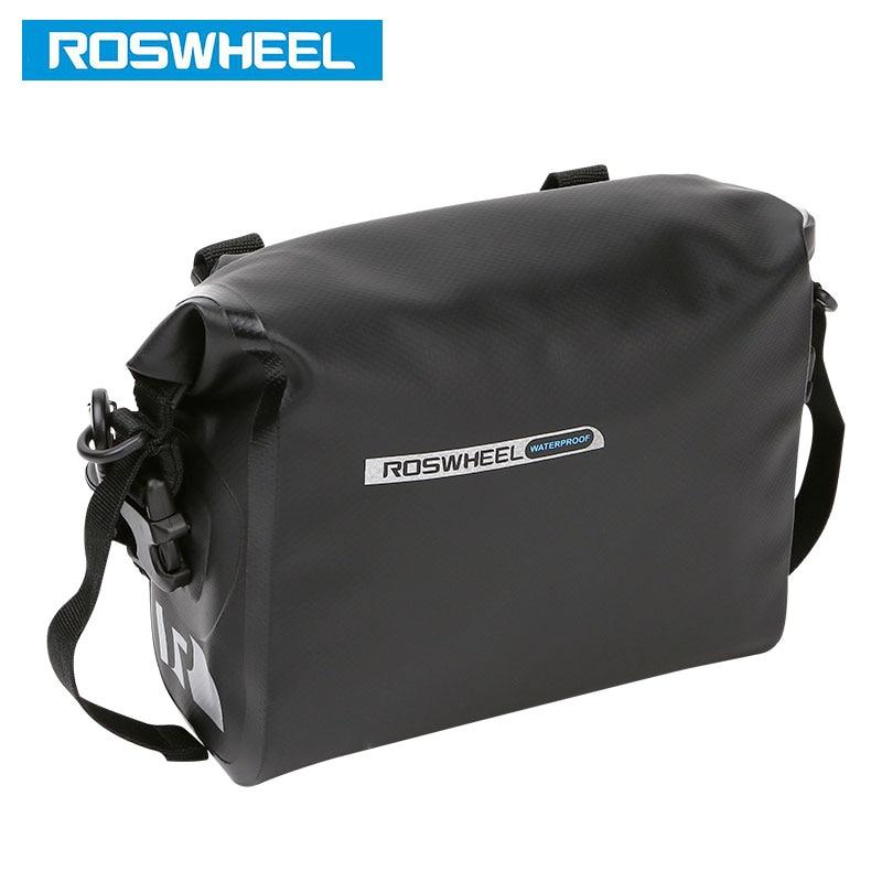 ROSWHEEL DRY # 111361 Volle wasserdichte Fahrradlenkertasche 3L - Radfahren - Foto 2