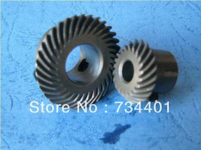 1.1 moduletransmission ratio 11:7 or 7:11gear ratio is pierced33 teeth and 21 teethMeat Grinder Parts etc.