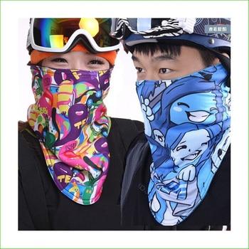 TH02 New Outdoor Ski Snowboard Motorcycle Sport Winter Warmer Half Face Mask Sport Mask Skiing Mask windproof cycling face mask winter warmer fleece balaclavas bike sport scarf mask bicycle snowboard ski mask