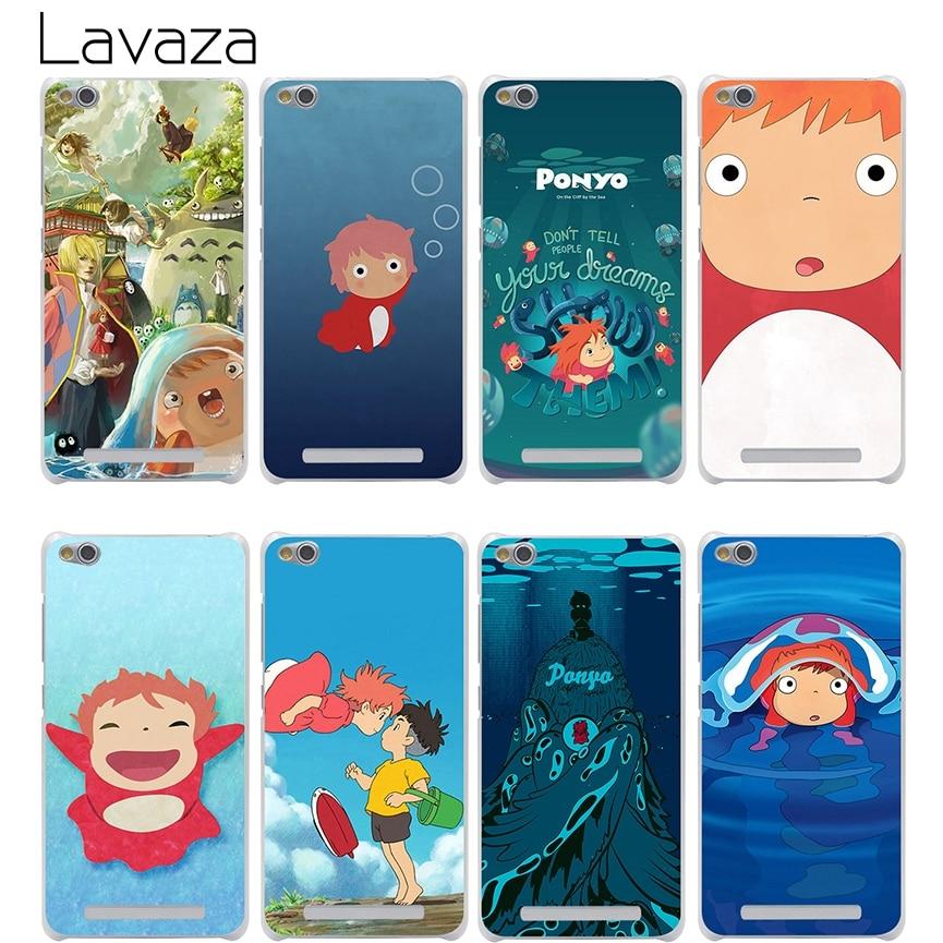 Lavaza Ponyo On The Cliff Case for Xiaomi Redmi Note 3 Pro 5a Prime 3s 4 8 mi8 SE mi6 5 4a 4x mi a1 Plus