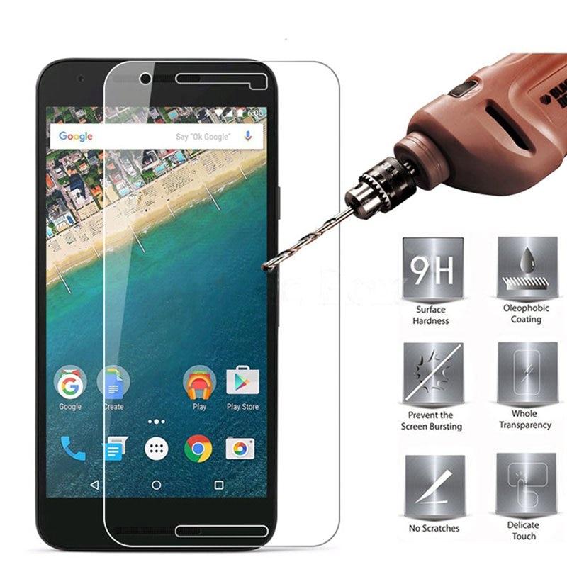 Agreal закаленное Стекло для LG Google Nexus 5x Экран протектор 9 H 2.5D защита телефона Плёнки для LG Nexus 5x закаленное Стекло