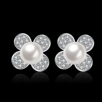 E065 Luxury Trendy Top Quality Pearl Earring For Woman