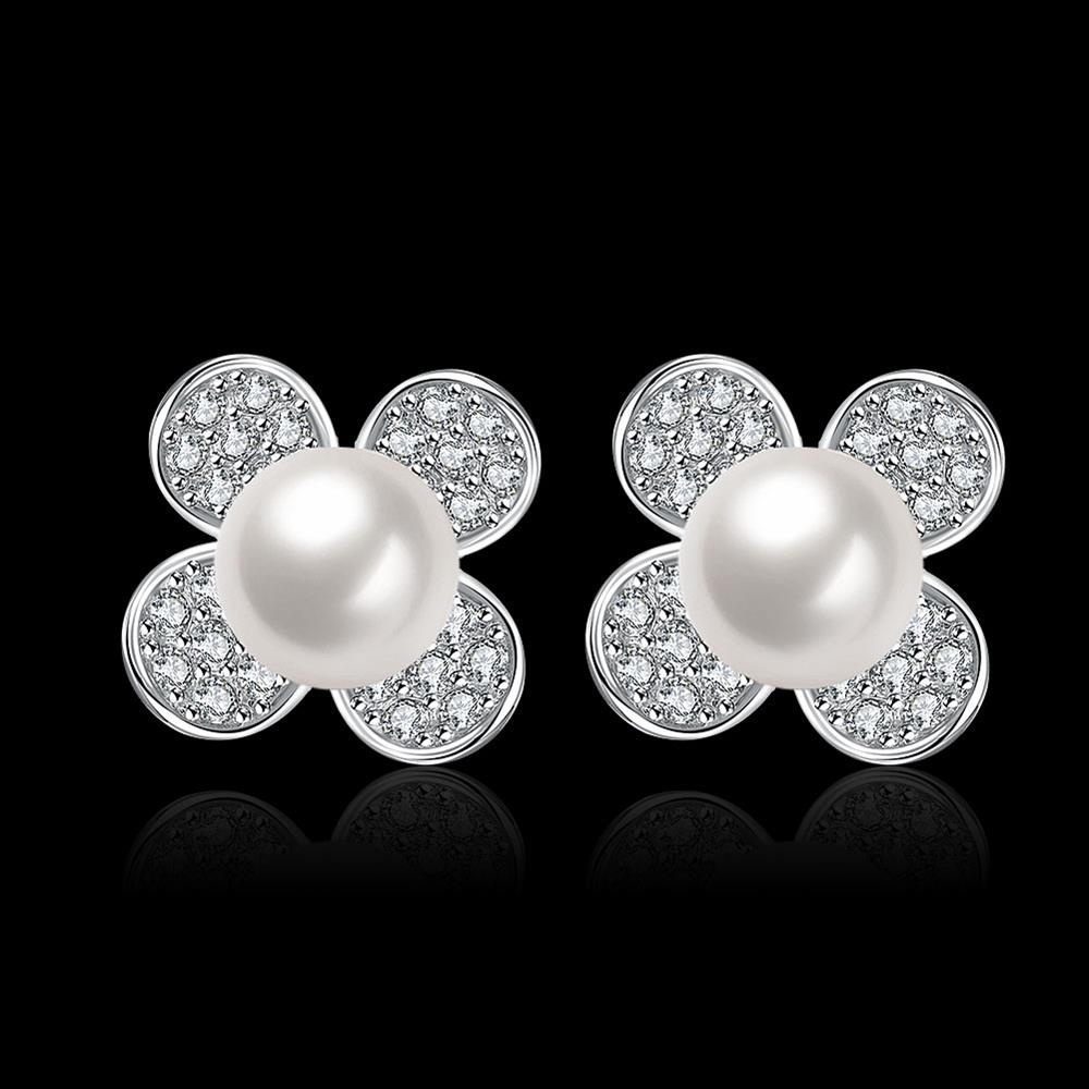 E065 Luxury Trendy Top Quality Pearl Earring For Woman Fashion Earrings For  Girls  Buy Floral