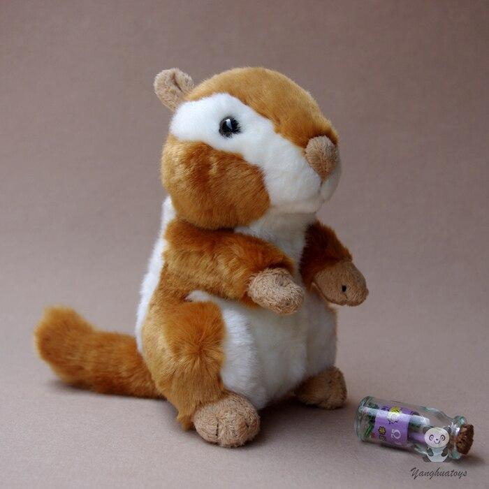 Детски играчки Сладък Chipmunk кукла Плюшени играчки подаръци Пълнени животни добро качество