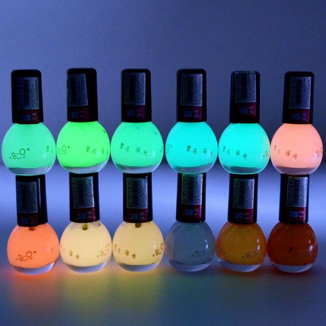 Candy Mini Glow In The Dark Nail Polish Glowing Vernis Luminous ...