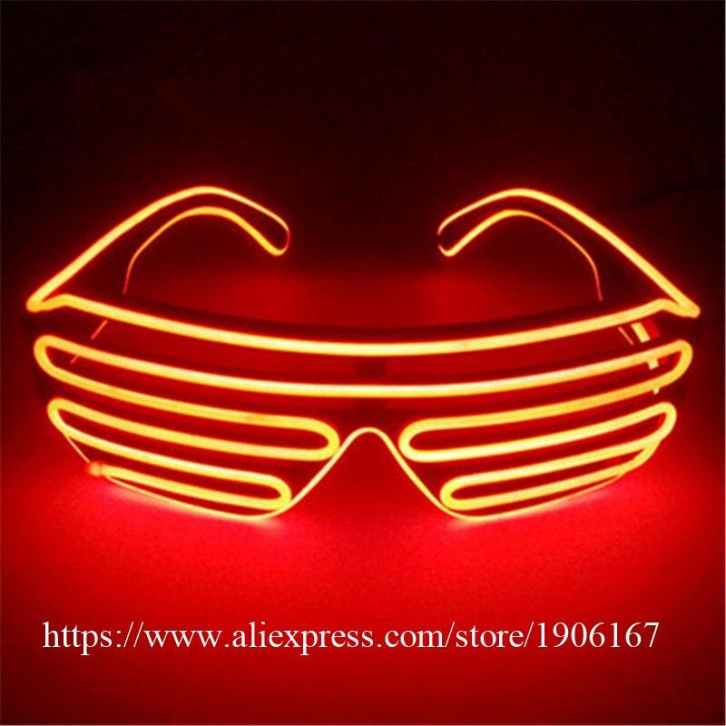 Mode El Kawat Kacamata Party Colorful LED Pencahayaan Tahap Kacamata Rana  Kacamata Berkedip Led Bercahaya di Perlengkapan Pesta cahaya dari Rumah    Taman ... 20d977d3e4