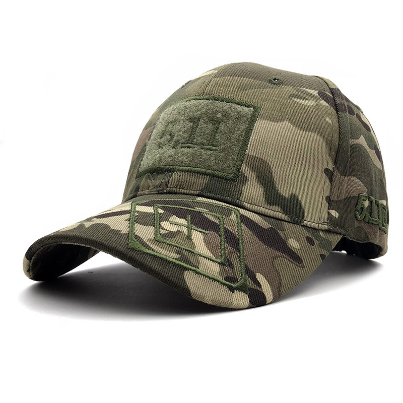 2019 New Arrival Pokemon Go Gorras Spot New   Baseball     Caps   Army Camouflage Outdoor Tactical Jungle Magic Sticker