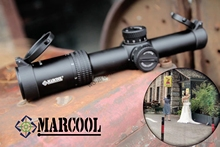 Marcool 1-6×24 IG Riflescope Adjustable Red Dot Hunting Light Tactical Scope Reticle Optical Rifle Fast Focus