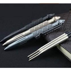 Практичные тактические ручки EDC алюминиевый стеклянный выключатель самообороны тактическая ручка выживания многофункциональный