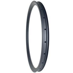 Image 3 - 29er MTB AM ENDURO 40mm asymmetric carbon rim 28mm deep clincher tubeless UD 3K 12K matte glossy 24H 28H 32H 36H hookless wheel