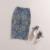 As Mulheres da forma 2016 Nova Primavera Saia de Verão Do Joelho-Comprimento de Impressão de Escritório Lápis de Volta Dividir Saias Faldas saia de Alta Qualidade Midi Femme