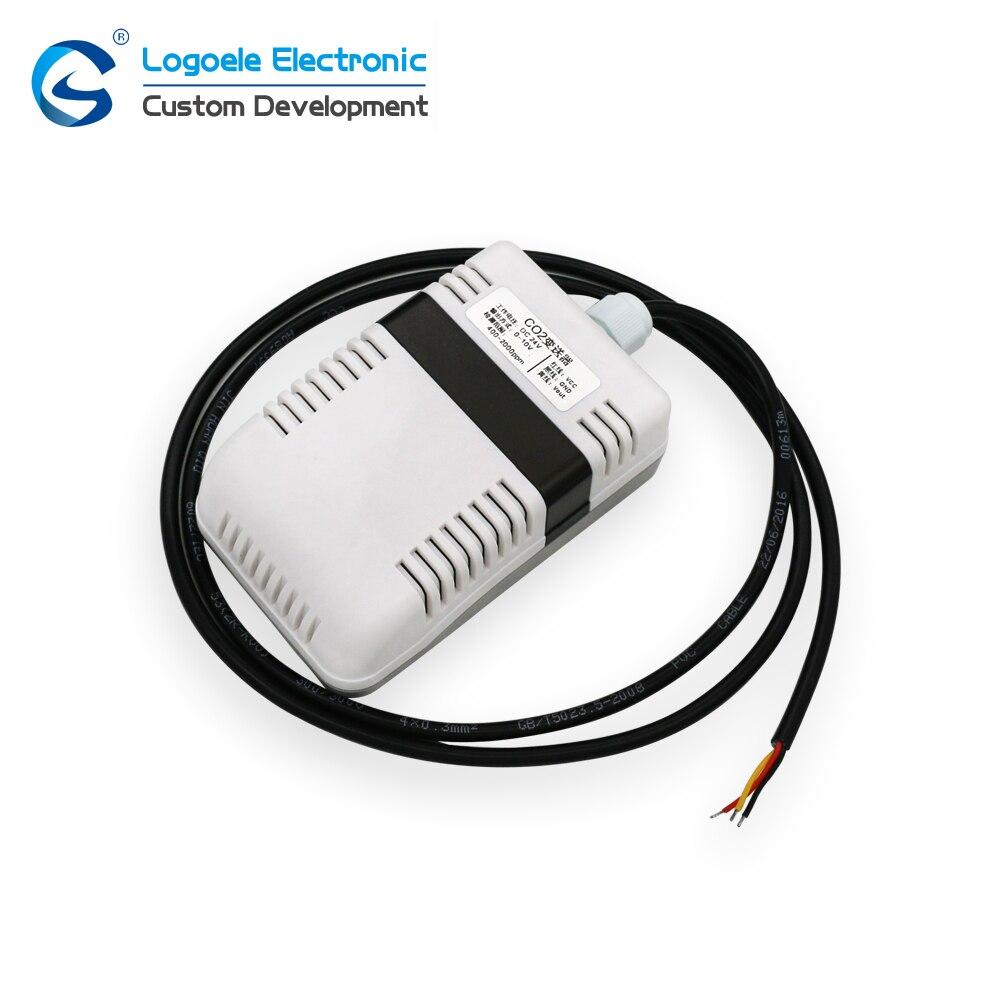 Saída de Sinal Transmissor de Co2 Sensor de Detecção de Co2 Alta Qualidade Módulo Analógico Novo Frete Grátis 400-2000ppm