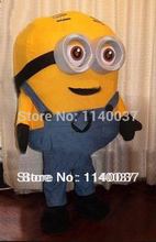 mascot New Special Minions Mascot Costume despicable me Character Mascotte Outfit Suit EMS FREE SHIPPING