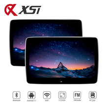 11.6 Inch Android 7.1 Auto Hoofdsteun Monitor Octa Core 1920*1080 HD 1080P 2.5D Ultra-dunne Touch scherm WIFI Bluetooth USB HDMI FM