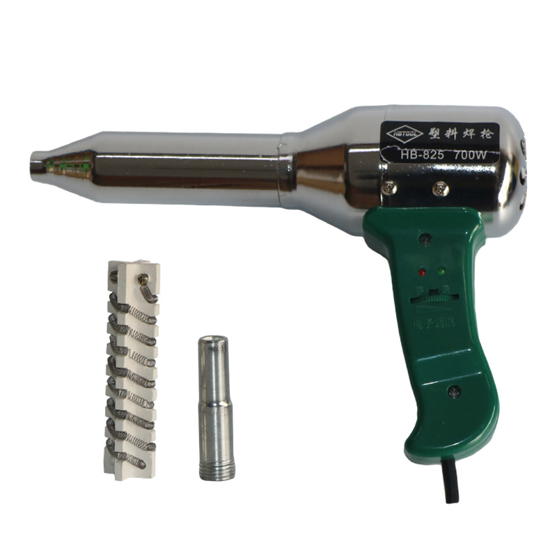 700W Temperature Adjustable Hot Air Gun, Plastic Welding Gun ,220V with 1 Heater,1 Hot Air Nozzles, 1 pcs/lot,free shipping