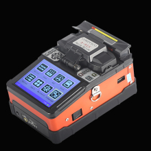 A 81S Orange Optical Fiber Fusion Splicer Fiber Optic Welding Splicing Machine
