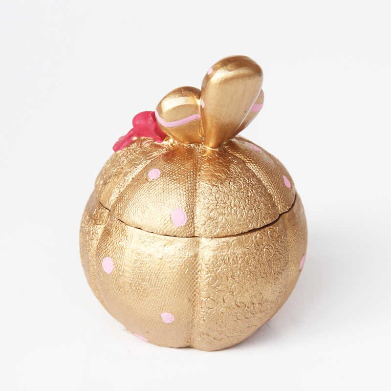 Golden เรซิ่น Piggy Bank กล่องเงินเหรียญสร้างสรรค์เก็บ Lady เครื่องประดับกล่องมัลติฟังก์ชั่นอุปกรณ์ตกแต่งบ้าน
