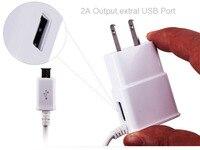 AC Wall US EU Micro USB Mobile Phone 2A Portable Charger For Motorola Droid Turbo 2
