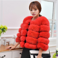 2014 The Latest Version Of The Fox Coat Pipi Grass