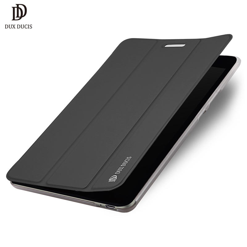 DUX DUCIS Flip Case For Huawei MediaPad T3 8.0 KOB-L09 KOB-W09 Honor Play Pad 2 8.0 inch Tablet Soft Protection Stand Cover Case fashion case for huawei mediapad t3 8 0 kob w09 kob l09 tablet pc for huawei mediapad t3 case cover