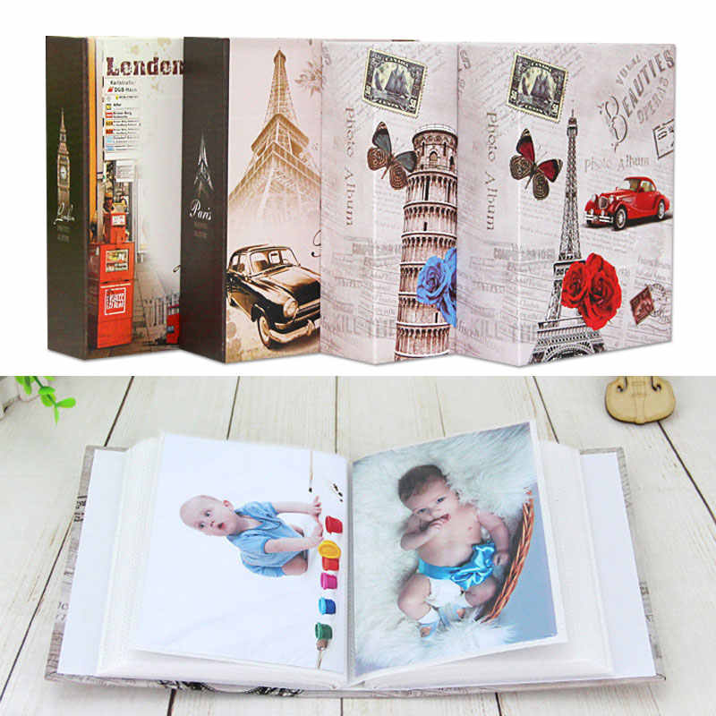 Portable 4R Picture Album for Photo Album DIY for Storage Book Photo Holder Storage Photo Large Capacity for Cartoon