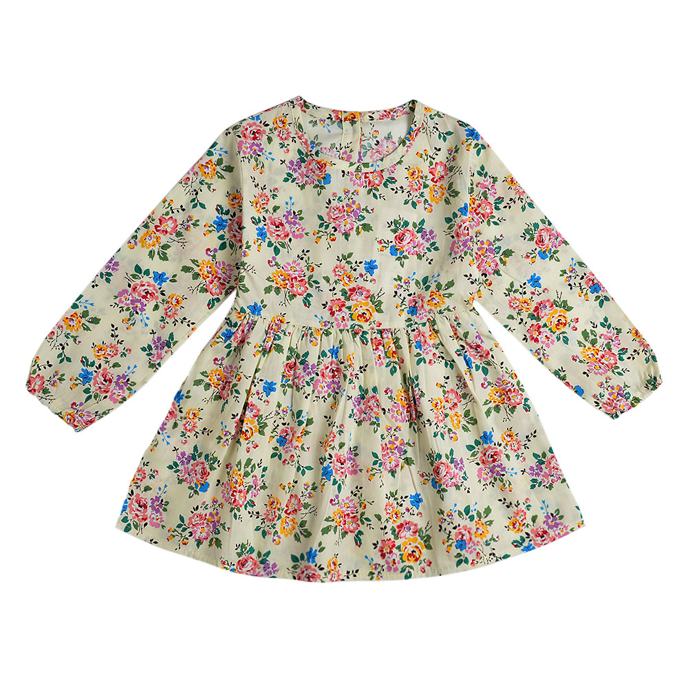 HTB1sQJXXiHrK1Rjy0Flq6AsaFXa3 2019 Autumn Girl Dress Cotton Long Sleeve Children Dresses Polka Dot Kids Dresses for Girls Fashion Girls Clothing