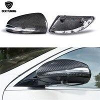 Для Mercedes W205 W222 W213 W238 X205 Benz C S GLC E класса двойной углеродного волокна зеркало 1:1 заменить Стиль AMG сухой углерода зеркало