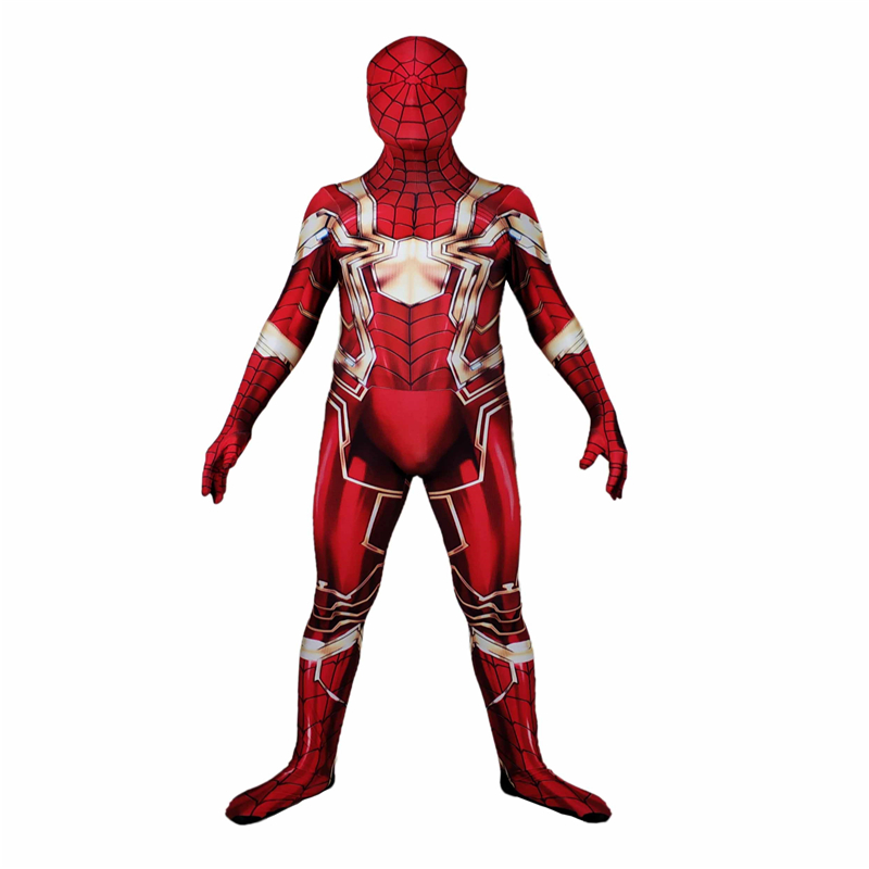 Super hero Superman Iron spider Cosplay Costumes Halloween lady male tights Bodysuit Suit Jumpsuits Adult Kids Kostuum Zentai