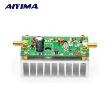 Aiyima 7 Вт FM Усилитель мощности, Amplefier HF Плата усилителя 65 110 МГц вход 1 МВт с радиатором