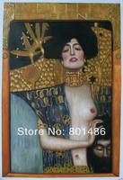 Judith I 1901 Gustav Klimt Handmade Oil Painting Reproduction