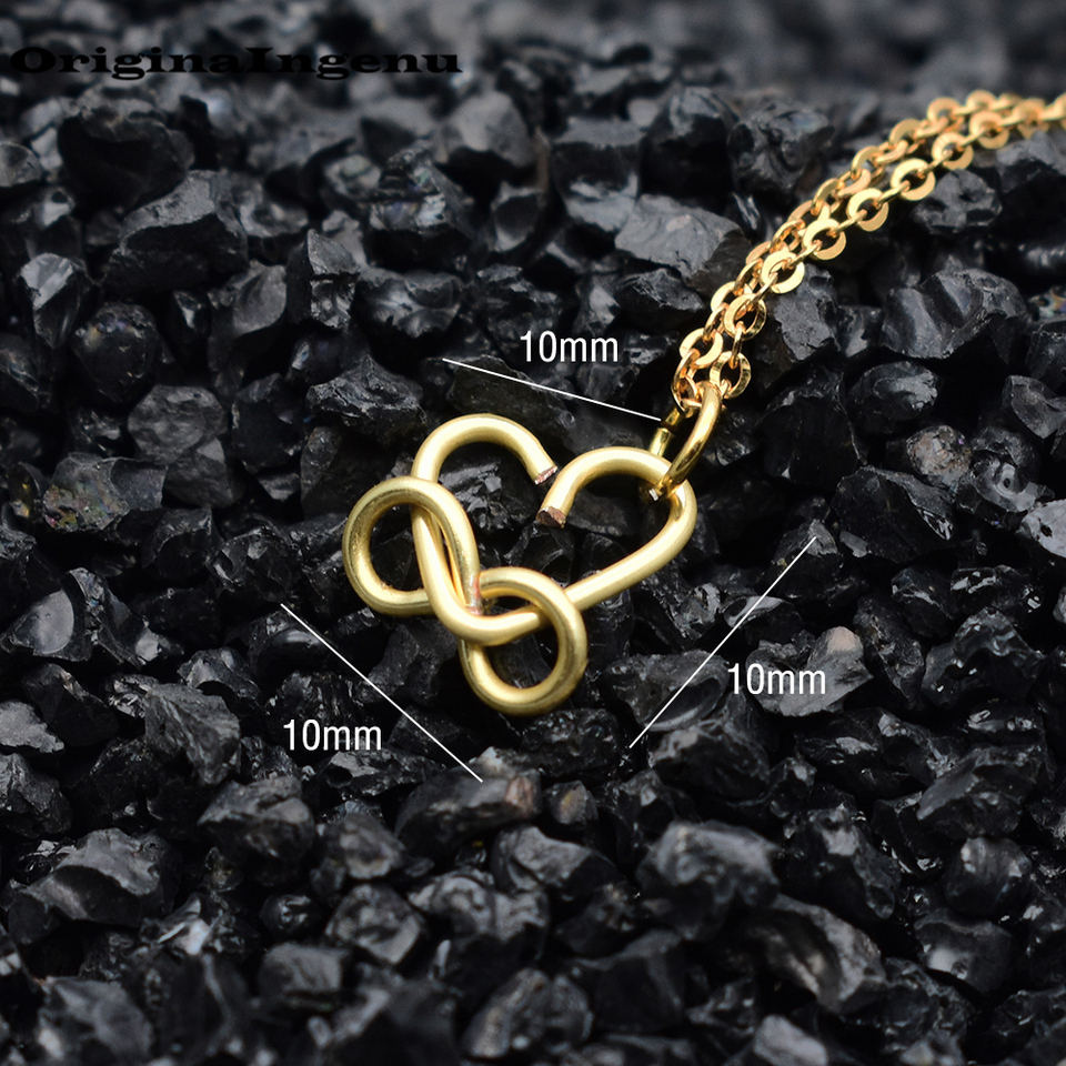 Women 14k Gold Filled Infinity Collier.