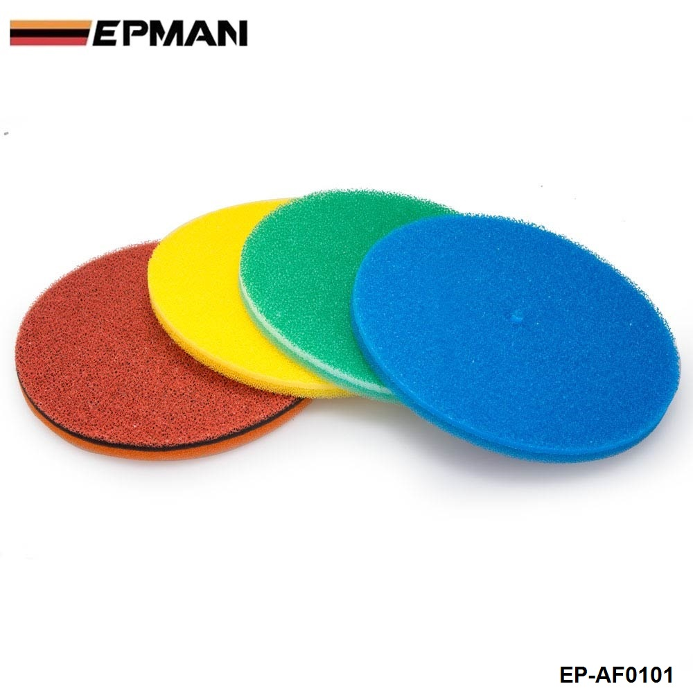 Air Filter Foam/Air Filter Sponge Blue ,Green,Red,Yellow For BMW MINI COOPER S JCW W11 R52 R53 01-06 EP-AF0101-1P