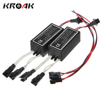 2Pcs CCFL Inverter Spare Ballast for Angel Eyes Halo Rings Kit 12V Replacement Waterproof