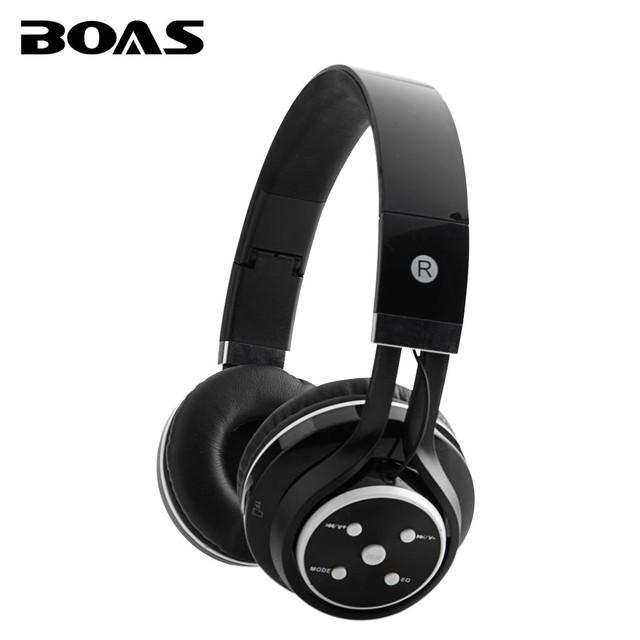 Boas sem fio fones de ouvido estéreo bluetooth apoio tf cartão de fm de rádio mp3 portátil earphonea fones de ouvido microfone para iphone samsung
