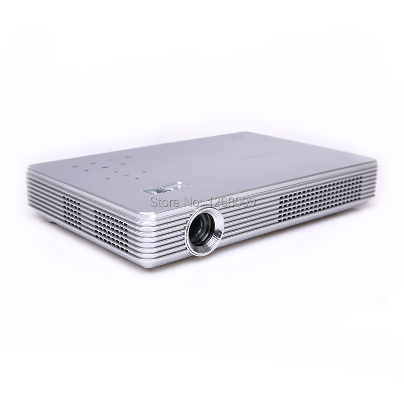 2017 New DLP WiFi High Brightness 7100 Lumens LED Projector Full HD 1080P Android 4.4 3D Smart 4K Projector Free Shipping