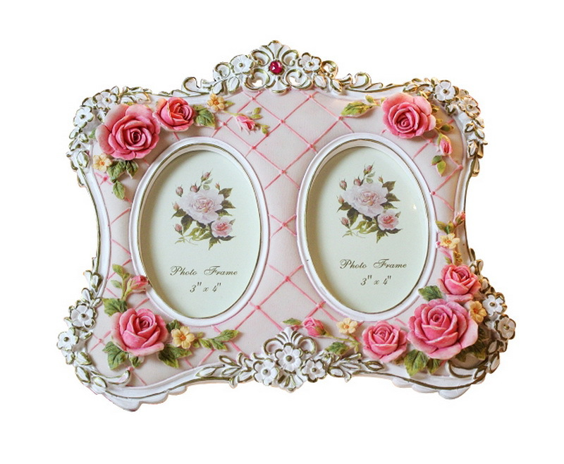 Wedding Picture Frames Double Rose Frames European Style Home Dector ...