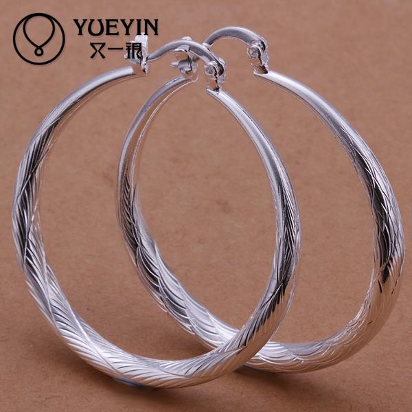 d52d3f3b4e3c Accesorios de plata Chapado en joyería de mujer pendientes de gancho  accesorios de moda adornos pendientes