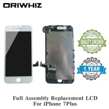 10PCS Screen Replacement LCD Touch For iPhone 7 Plus Digitizer Display with Front Camera Facing Proximity Sensor Ear Speaker