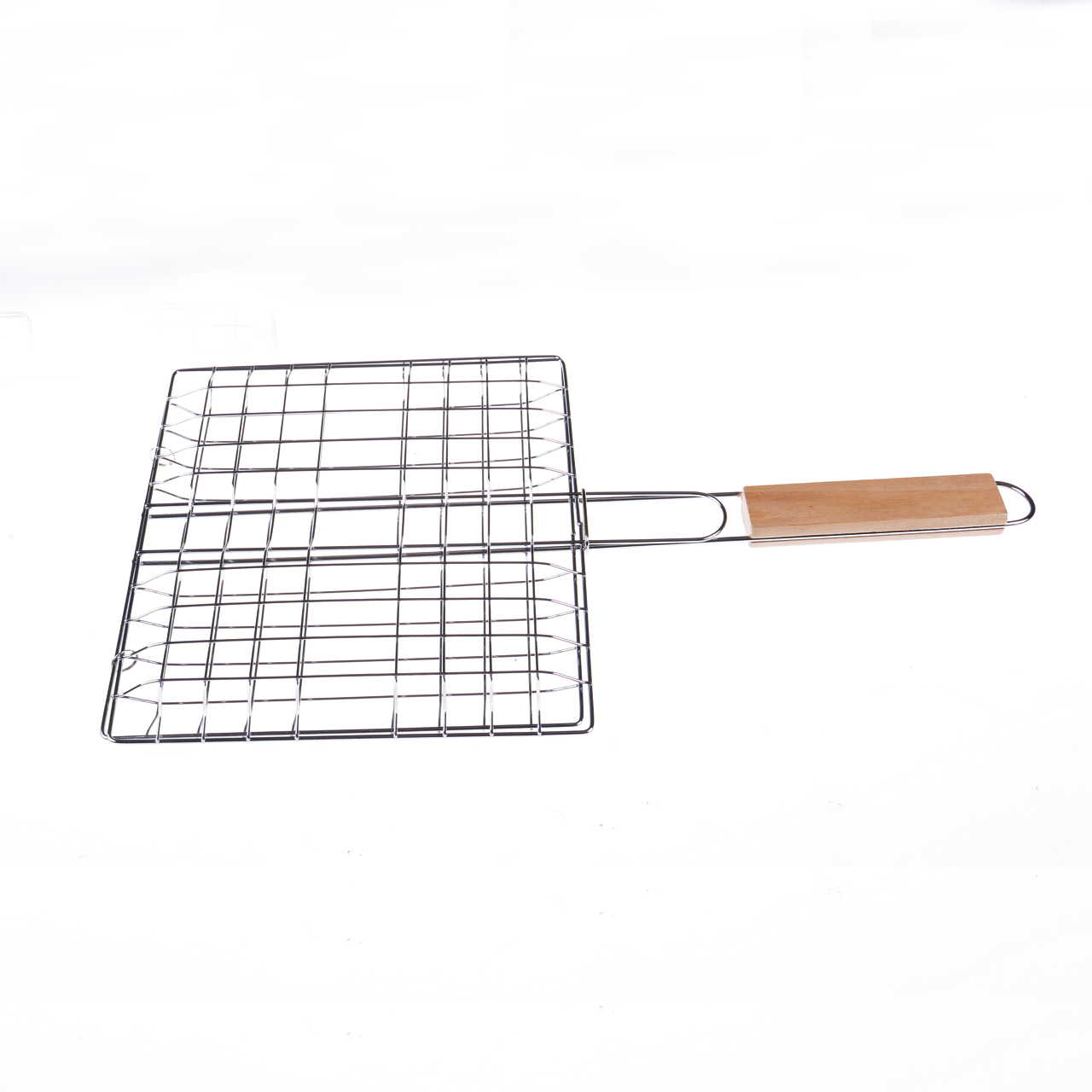 BBQ Tools Meat Fish Grill Basket Vegetables Barbeque Food Holder Barbecue Tray New Portable Wild barbecue net Easy Washable
